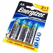 Батарейка Energizer Maximum AA LR06 FSB4